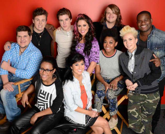 American Idol Top 10 Photo