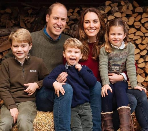 Kate Middleton and Prince William Xmas Card
