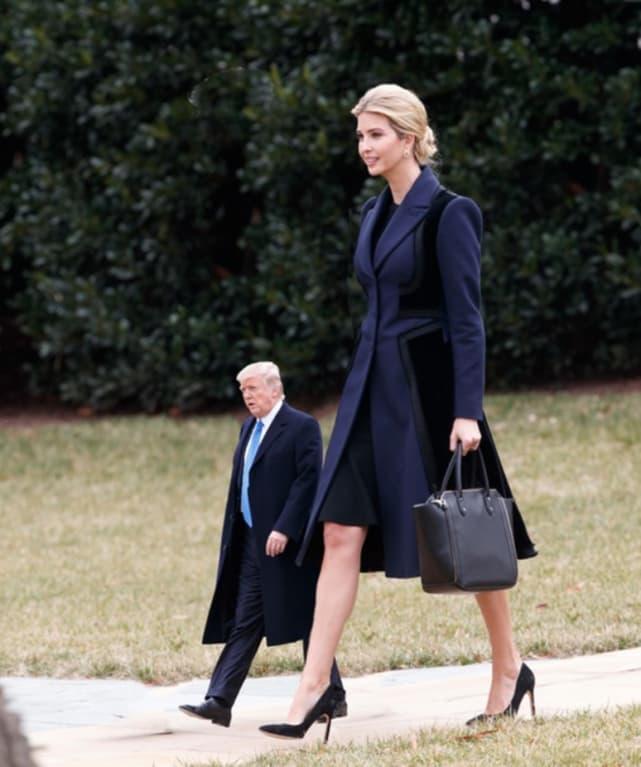 Tiny Trump, Tall Ivanka