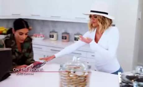 Khloe Kardashian Makes Peace Offering to Blac Chyna