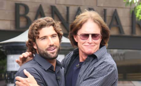 Brody Jenner and Bruce Jenner