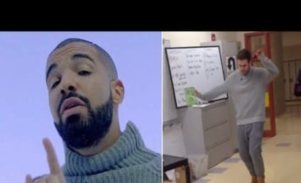"Coolest Teacher Ever Goes All ""Hotline Bling"" on Students"