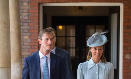 Pippa Middleton at Louis' Christening
