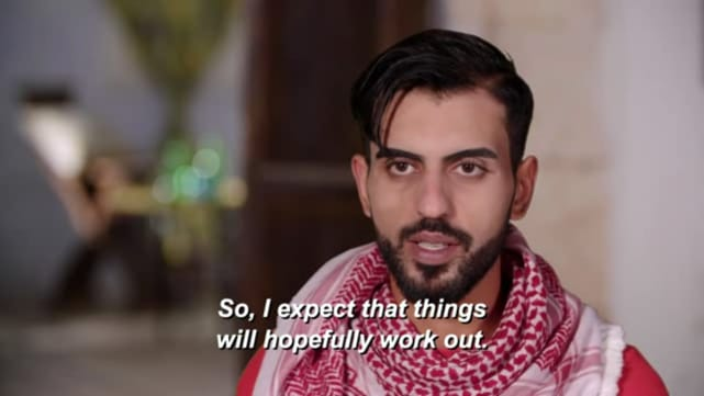 Yazan tiene esperanzas