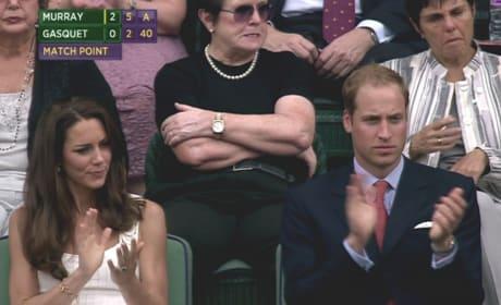 Royal Couple at Wimbledon