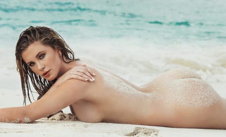 Ireland Baldwin: Naked on a Beach