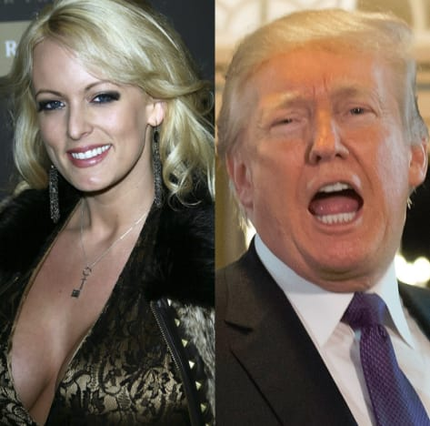 Stormy Daniels, Donald Trump Split