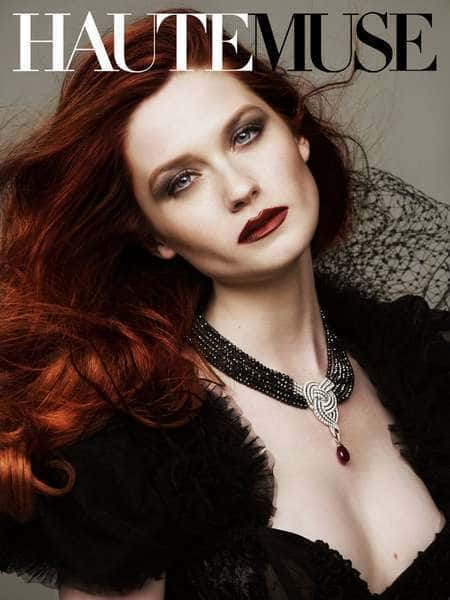 Bonnie Wright Haute Muse Cover The