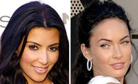 Kim Kardashian or Megan Fox: Who would you rather ...