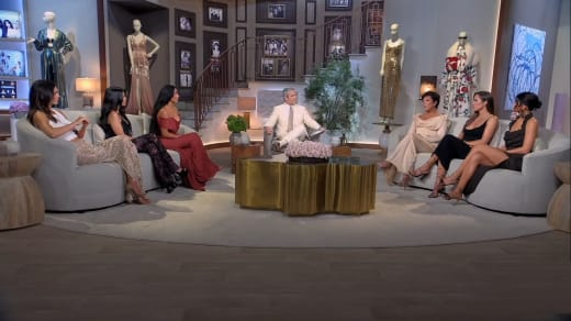 Keeping Up With The Kardashians Finale Reunion Stage Photo