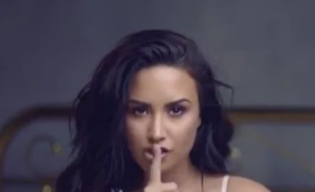 Demi Lovato Announces New Tour, Wears Sexy White Lingerie to Do So