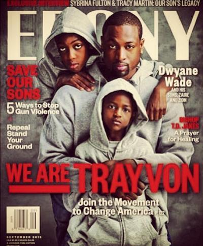 Dwyane Wade Ebony Cover