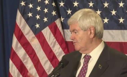 """Newt Gingrich Calls Barack Obama the """"Food Stamp President"""""""