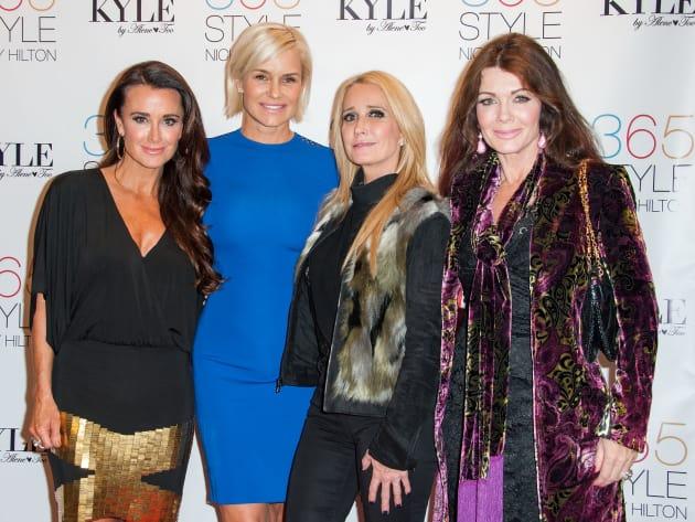 Kyle Richards, Yolanda Foster, Kim Richards and Lisa Vanderpump Attend Nicky Hilton's Book Signing