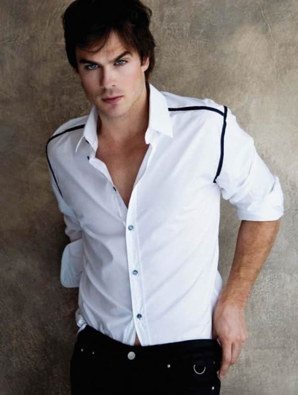 Ian Somerhalder in August Man