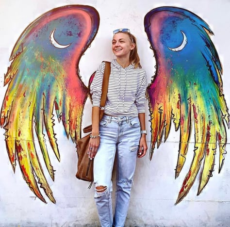 Gabby Petito and a Winged Mural