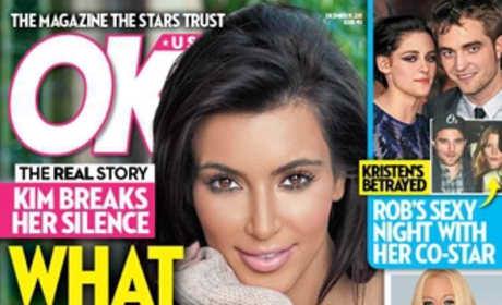Kim Kardashian on OK! Weekly