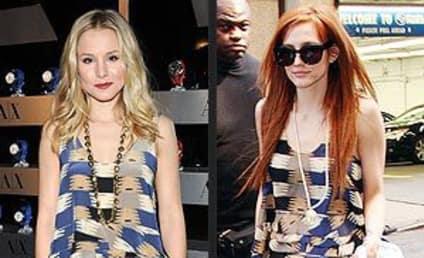 Fashion Face-Off: Kristen Bell vs. Ashlee Simpson