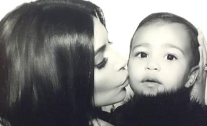 Kim Kardashian Kisses North West, Posts New Family Photos