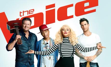 Voice Season 8 Coaches Picture