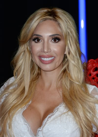 Farrah Abraham in White