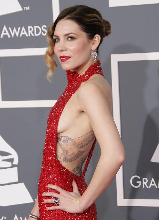 Skylar Grey at the Grammys