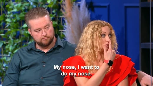 Natalie Mordovtseva - my nose, I want to do my nose