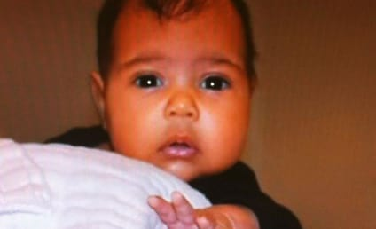 Kim Kardashian Baby Picture: Released! Adorable!