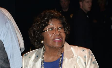 Katherine Jackson Arrives