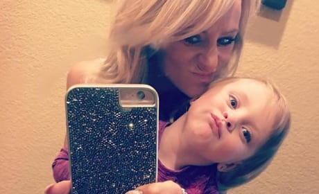 Leah Messer and Adalynn