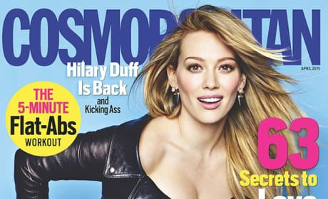 Hilary Duff Cosmo Cover
