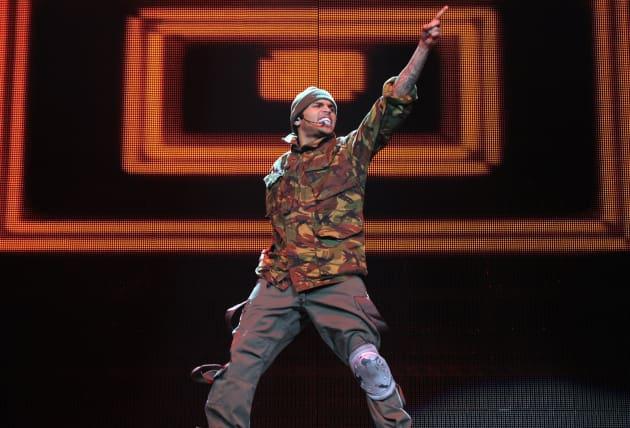Chris Brown LIVE Concert Photo