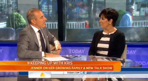 Kris on Today
