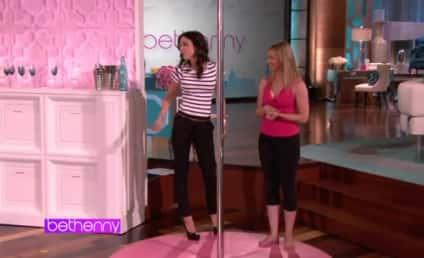 Olivia Munn Challenges Bethenny Frankel to Pole Dance-Off