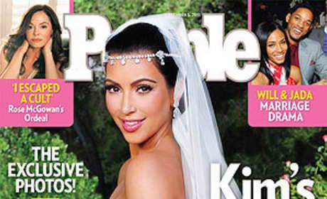 What do you think of Kim Kardashian's wedding dress?
