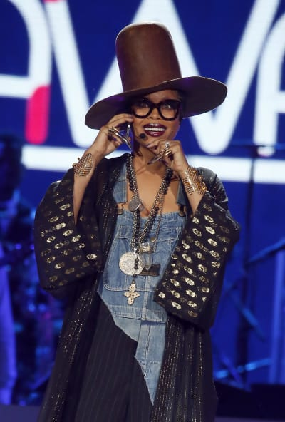 Erykah Badu Soul Train Awards Photo