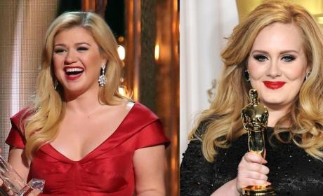 Adele Warns Kelly Clarkson Not To Have A Baby
