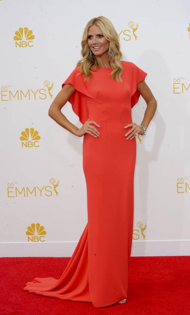 Heidi Klum at the Emmys