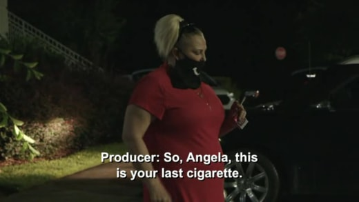 HEA 6x08 preview - Angela's last cigarette