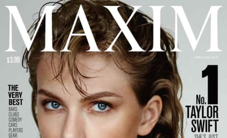 Taylor Swift Maxim Cover