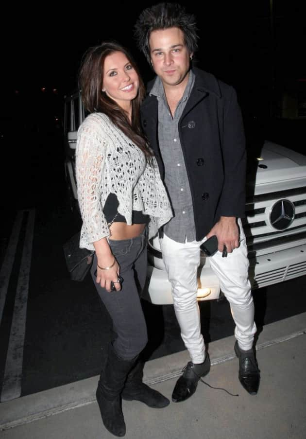Ryan Cabrera and Audrina Patridge