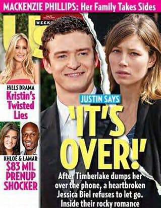 Justin and Jessica OVER!