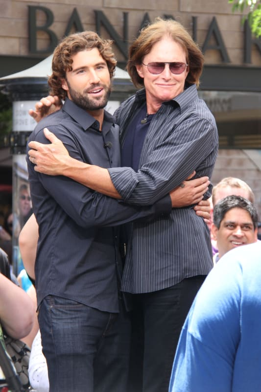Bruce Jenner and Brody Jenner