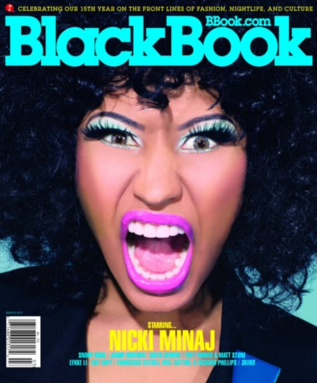 Nicki Minaj in BlackBook