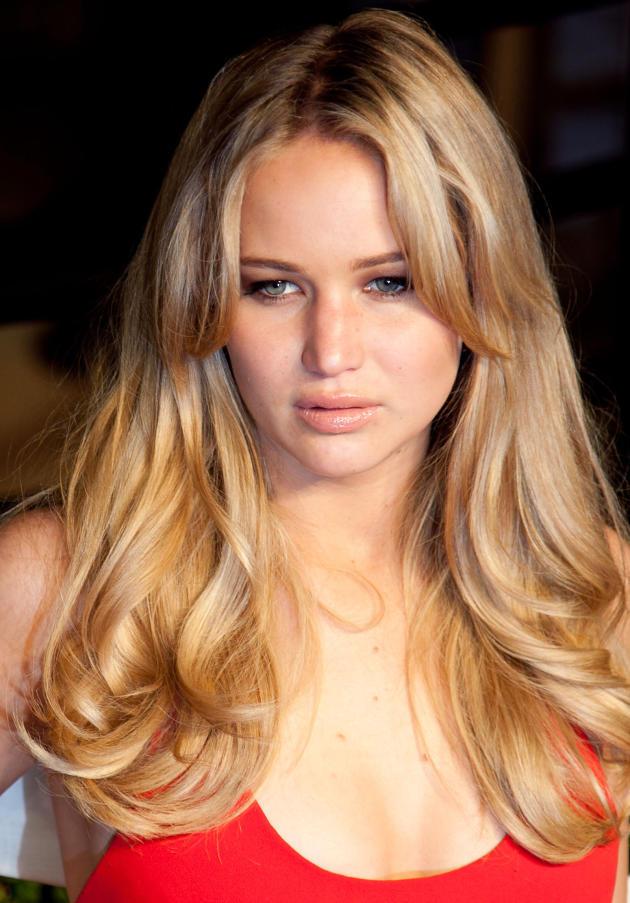Jennifer Lawrence as a Blonde