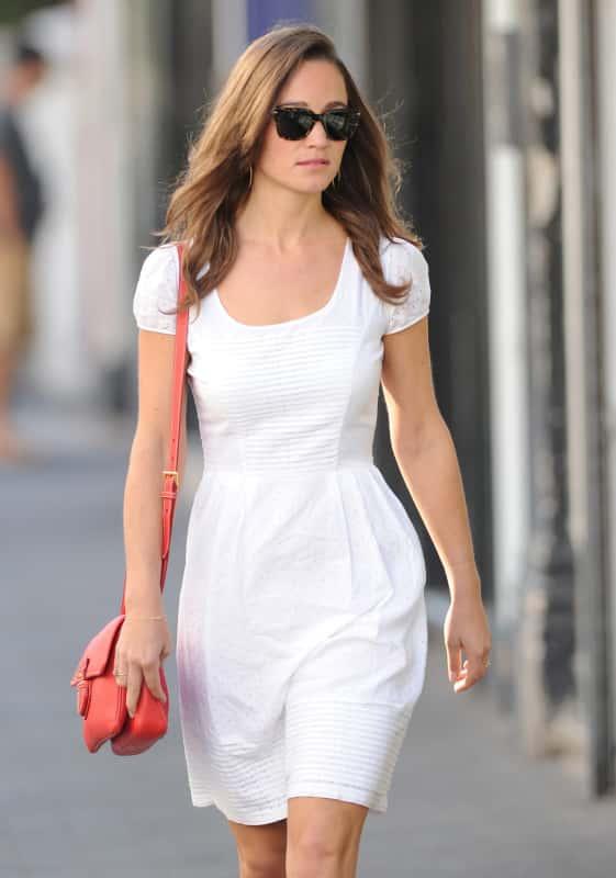 Pippa Middleton, White Dress