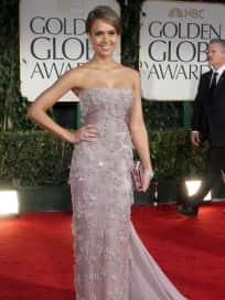 Jessica Alba at the Golden Globes