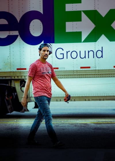 Mohamed Jbali Drives for FedEx