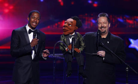 Nick Cannon and Terry Fator