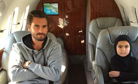 Scott Disick and Son